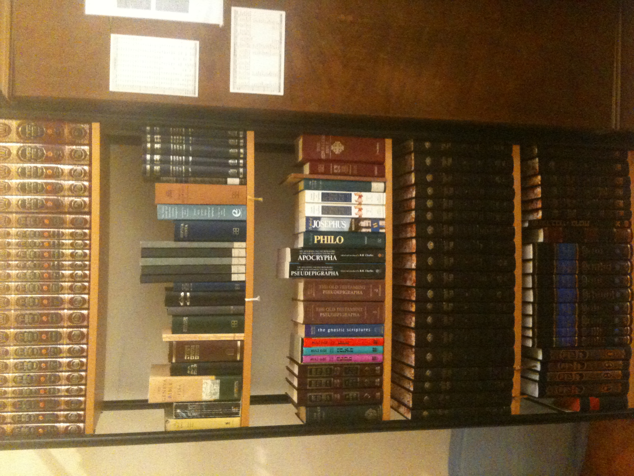 Ah, Now We're Talking! This Is My Primary Literature Shelf #1 It Houses  Various Copies Of The Hebrew Bible (most Notably Miqra'ot Gedolot, Torat  Hayyim And