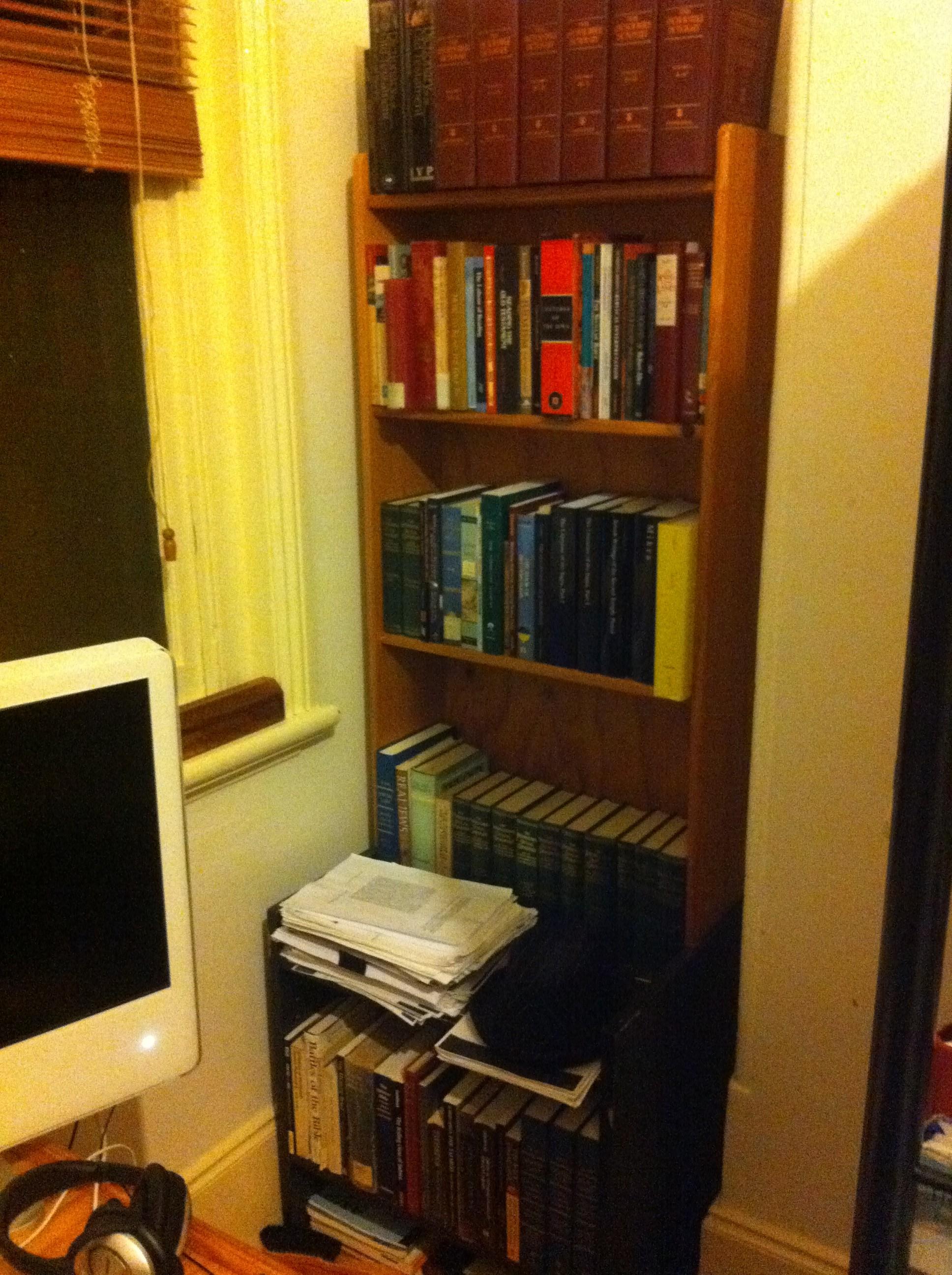Bedroom Picture Shelf