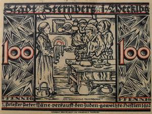Sternberg 1 (1 mark 1921) - front